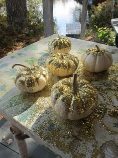 Gotta love glitter pumpkins!!!
