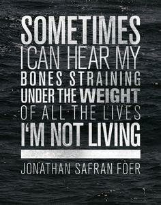 Jonathan Safran Foer. One of my favorite authors.