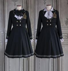 My School Memories Vintage Lolita Short Jacket, Blouse and Jumper Dress,Lolita Dresses, Korean Uniform School, School Uniform Outfits, Cute School Uniforms, School Dresses, School Uniform Anime, Style Grunge, Grunge Look, 90s Grunge, Grunge Outfits