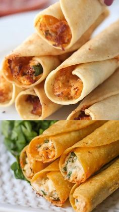 Mexican Food Recipes, Mexican Food Appetizers, Best Food Recipes, Tortilla Recipes, Chicken Appetizers, Quick Appetizers, Appetizer Recipes, Dinner Recipes, Meal Ideas For Dinner