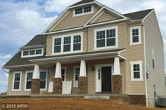 New and ready for you! Beautiful 4BR 3.5BA Colonial in Clark's Rest Community. Gorgeous kitchen with 42