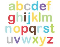 Alphabet Wall Stickers make learning the ABC fun and easy for your child. Abc Wall, Alphabet Wall, Learning The Alphabet, Bright Stars, Wall Stickers, Fun, Room, Glitter Stars, Wall Clings