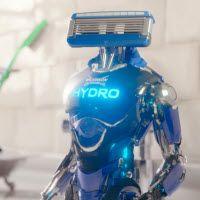 Descubre cómo el depósito de gel hidratante de Wilkinson HYDRO le gana la batalla a la banda convencional #RobotWilkinsonHydro