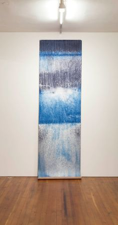 Artist Meghann Riepenhoff uses the cyanotype process to make prints of waves, sand, and rain. Bleu Cyan, Cyanotype Process, Sculpture Textile, Textiles Sketchbook, Sun Prints, Alternative Photography, Collage Art Mixed Media, Blue Dream, White Clouds