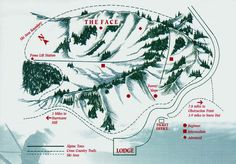 Map of Hurricane Ridge | Hurricane Ridge Olympic National Park Map