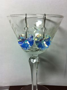 Something new for the week. Ear Rings, Heart Shapes, Wine Glass, Abs, Jewelry Design, Hearts, Crystals, Medium, Earrings