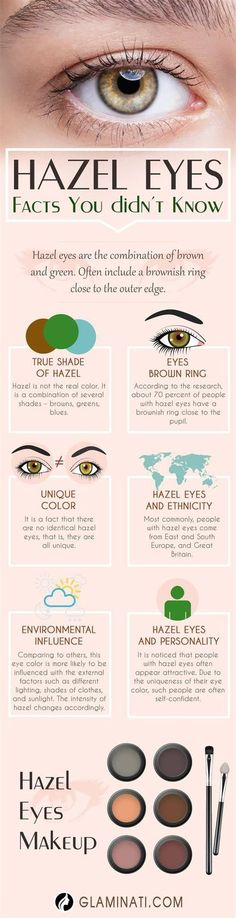 Make Up - Mysterious Beauty of Hazel Eyes That Conquers the Hearts of Many - Make-up - Eye Makeup Hazel Eye Makeup, Skin Makeup, Makeup Eyeshadow, Hazel Eyeshadow, Eyeshadow Palette, Eyeshadow For Green Eyes, Makeup Looks For Green Eyes, Black Store, Hazel Green Eyes