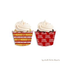 USC Trojans Inspired Wrappers