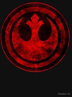 """""""Rebel Alliance Logo"""" Stickers by Star Wars Fan Art, Star Trek V, Star Wars Love, Images Star Wars, Star Wars Pictures, Star Wars Rebels, Alliance Logo, Rebel Alliance Tattoo, Star Wars"""