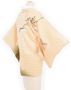 「絵羽織 線香花火のような花」の商品画像