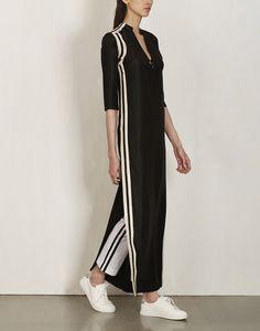 Black Silk Dress-Anamika Khanna- img3