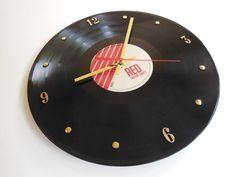 Taylor Swift Vinyl Record Clock (Red)