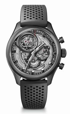 TimeZone : Industry News » N E W M o d e l - Zenith El Primero Tourbillon Skeleton Intense Black