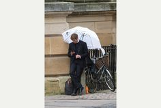After taking over King's Parade on Thursday the cast of Grantchester ventured further into the city yesterday, for a second day of filming the hit crime drama. Stars Robson Green and James Norton...