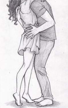 drawing boy and girl hugging - Google-søgning