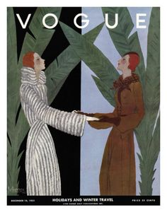 §§§ : Vogue Cover : December 1931  by Georges Lepape