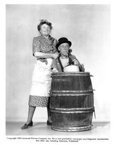 Ma and Pa Kettles with Marjorie Main and Percy Kilbride