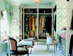 feminie fabulous closets | The Closet to End all Closets