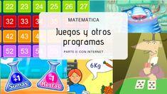 Juegos y otros programas Matemática - Parte II - * Blog Educación Primaria * Blog, Games, Kids, Educational Software, Educational Games, Writing Numbers, Read And Write, Children, Blogging