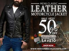 This fabulous men's leather outfit makes you look impressive. Get the Mens Classic Leather Motorcycle Jacket now and define your style statement! Black Leather Motorcycle Jacket, Leather Jacket, Classic Leather, Real Leather, Jacket Style, Bikers, Leather Fashion, Freedom, Winter Fashion