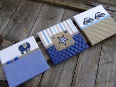 Kék-beige falikép kollekció babaszobába, gyerekszobába, Baba-mama-gyerek, Dekoráció, Gyerekszoba, Baba falikép, Beige-kék vidám kisfiús falikép kollekciót, babaszoba dekorációt készítettünk.  A képen l..., Meska