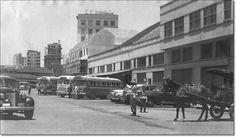 Antiga estação rodoviária déc. 50