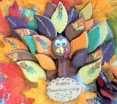 Turkey cookie platter - totally inspired by CookieCrazie.