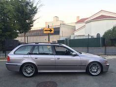 This 2001 M5 Touring build started life as a 540iT, which according to the seller was purchased as a one-owner, southern state car prior to modification. BMW built only one E39 M5 Touring prototype, which is a real shame as this generation of 5-series wagons are arguably among the best-looking the c