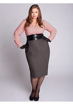 Business casual plus size dresses