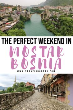 Want to travel to and find out what to do in Mostar, Bosnia? Beyond beautiful landscapes and the Old Bridge, Mostar and neighboring towns have incredible food, Bosnian coffee and heartwarming people. Follow this guide to find out the best things to do in Mostar in 48 hours!  #Mostar #Bosnia #balkans #balkantravel #pocitelj Bósnia E Herzegovina, Mostar Bosnia, Across The Bridge, Eastern Europe, World Heritage Sites, Nice View, Beautiful Landscapes, Travel Inspiration, Traveling