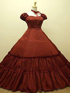 steampunk®gothic Zeitraum Kleid lolita Kleidkleid Renaissance Faire Kleidung