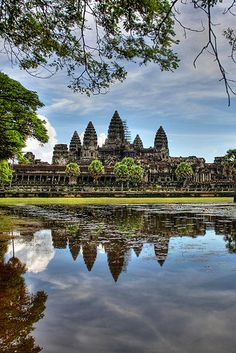 Angkor Wat Cambodia Go Cambodia. A unique holiday experience that will be so different from your other holidays. An experience worth paying for! And its affordable than other places! With Angkor Orchid Central Hotel www.angkororchid....