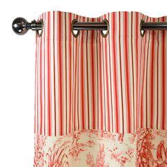 1000 images about toile de jouy rideaux coussins on pinterest toile de jouy rouge and toile. Black Bedroom Furniture Sets. Home Design Ideas