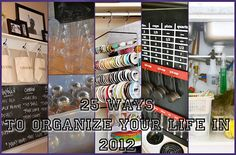 25 Ways to organise your life