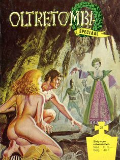 Cover for Oltretomba speciaal (De Vrijbuiter; De Schorpioen, 1973 series) #23