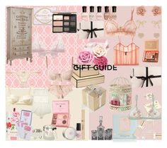 """""""Boudoir Gift Set"""" by jessicaanne ❤ liked on Polyvore"""