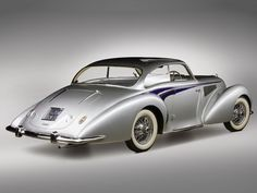 1947 Delahaye 135 MS Coupe by Langenthal ✏✏✏✏✏✏✏✏✏✏✏✏✏✏✏✏ IDEE CADEAU / CUTE GIFT IDEA ☞ http://gabyfeeriefr.tumblr.com/archive ✏✏✏✏✏✏✏✏✏✏✏✏✏✏✏✏