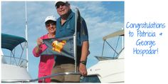 """A huge congratulations to our newest Platinum Loopers, Patricia and George Hospodar on completing the Great Loop for their second time! Aboard their 48' Symbol, """"Reflection,"""" they crossed their wake on December 9, 2015."""