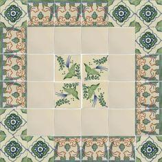 Green Dove Talavera Mexican Tile