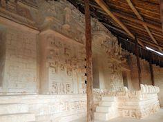 The beautiful facade of Ek Balam, Yucatan, Mexico. 2000 years old!!