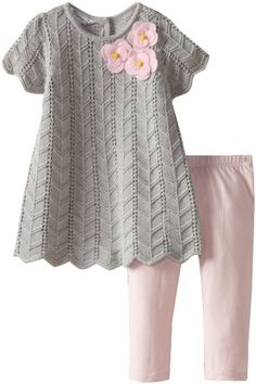 Pippa & Julie Baby-Girls Infant Sweater Set:Amazon:Clothing