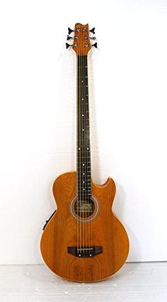 6 String Acoustic Electric Cutaway Bass Guitar >>> Visit the image link more details. Note:It is affiliate link to Amazon.