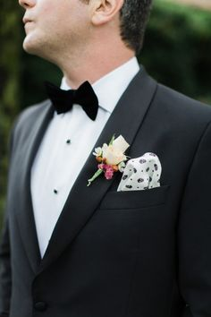 Fall boutonniere: http://www.stylemepretty.com/little-black-book-blog/2015/05/07/classic-art-deco-inspired-seversky-mansion-wedding/ | Photography: Cly by Matthew - http://www.clybymatthew.com/