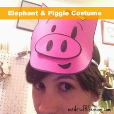 Nerd Craft Librarian: Elephant and Piggie Costumes!
