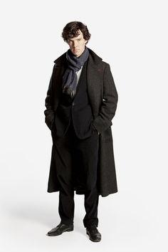 Sherlock from the series called BBC SHERLOCK:)