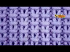 Cómo Tejer Punto Ojitos - 2 agujas (598) - YouTube Lace Knitting Patterns, Knitting Designs, Crochet Yarn, Crochet Stitches, Knitting Videos, Crochet For Beginners, Baby Knitting, Sewing, Blog