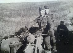 A BMW R75 operating with the 5th SS Wiking division in Russia