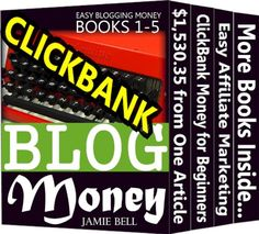 Blogging Profit for Beginners: Writing Blog for Clickbank Money at Home by Jamie Bell http://www.amazon.com/dp/B00HO4K3VG/ref=cm_sw_r_pi_dp_y7cyvb1K72B0W