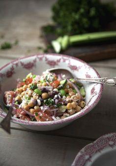 5 recettes de salades santé pour tes lunchs