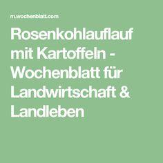 Rosenkohlauflauf mit Kartoffeln - Wochenblatt für Landwirtschaft & Landleben